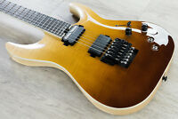 Schecter C-1 FR S SLS Elite Electric Guitar Flamed Maple Top Antique Fade Burst