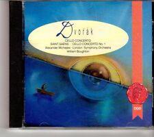 (FH756) Dvorak & Saint Saens, Cello Concertos - 1991 CD