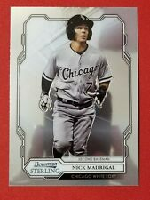 2019 Bowman Sterling Prospects Nick Madrigal #BPR-13 Chicago White Sox