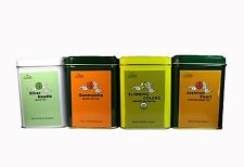 Luxury Loose Tea  Silver Needle Organic Oolong Tea  Jasmine Pearl Genmaicha 4PCS