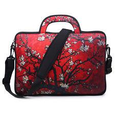 "Neoprene Laptop Computer Briefcase Bag W. Shoulder Strap & Handle 15.6""  3003"