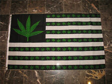 Marijuana Green 7 point Weed USA Flag 300x500cm 9 Point Legailze House Banner R
