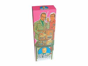 Denys Fisher Oscar Goldman Figure Repro Box (Non Window Version)