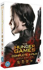 THE HUNGER GAMES 1-4 (2012-2015) -  DVD COMPLETE + CATCHING FIRE + MOCKINGJAY UK