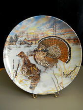 """""""The Grouse"""" by Wayne Anderson Knowles Collector Plate - 1986"""