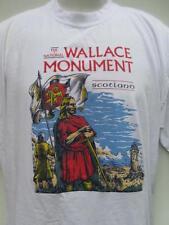 The National (William) Wallace Monument SCOTLAND Braveheart t shirt sz XL