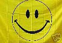 Happy Face  RV NASCAR Toy Box Trailer Home Flag #R-0014