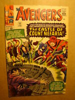 AVENGERS 13 *SOLID COPY* VS COUNT NEFARIA IRON MAN THOR CAPTAIN AMERICA