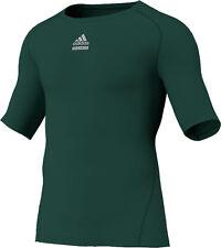 adidas Techfit C&S Shortsleeve grün (P92276) CLIMALITE® Material XS-XXXL