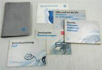 VW Golf 3 Bedienungsanleitung Betriebsanleitung 1993 Bordmappe Bordbuch