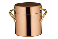 Ruffoni Copper 8qt Stockpot with 3qt Brazer Lid