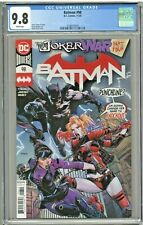 Batman #98 CGC 9.8 1st First Print Edition David Finch Joker War Part Four 4