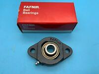 """Fanfir SCJT 5/8 Flange-Mount Ball Bearing Unit - 2-Bolt Flange, 0.625"""" Bore"""