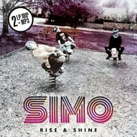 SIMO - RISE & SHINE (2LP 180 GR.BLACK VINYL+MP3)  2 VINYL LP + MP3 NEU