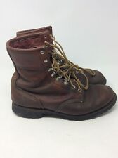 Vintage Red Wing Irish Setter Leather Work Boots Insulated 31022 Mens 10.5 D
