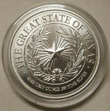 1oz .999 Silver The Great State of Texas Cannon Come And Take It Silver Round