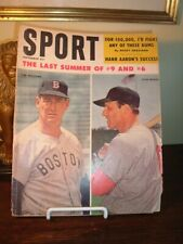 Sport Magazine Ted Williams & Stan Musial September 1959 - SHIPS FREE!