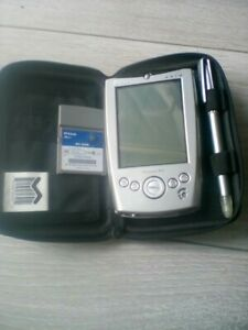 Vintage Dell Axim  PDA Pocket PC Windows Mobile spares with pen and case