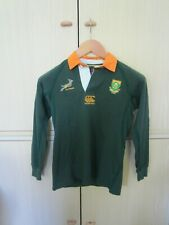 Rugby South Africa Springboks Canterbury Polo Long Sleeves 10 years