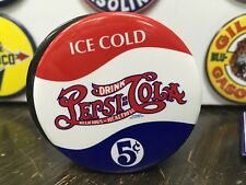 "classic PEPSI COLA ""ICE COLD"" soda full backed refrigerator MAGNET"