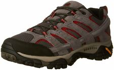 Merrell Men's Shoes Moab 2 Vent Leather Low Top Lace, Charcoal Grey, Size 12.0 0