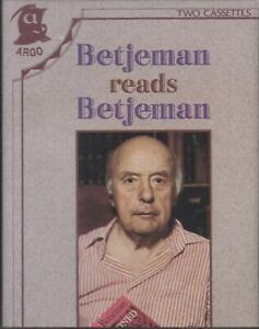 Betjeman Reads Betjeman ~ Two-Cassette Audiobook