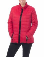 Zip Hip Length Polyamide Casual Coats & Jackets for Women