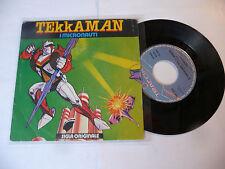 "I MICRONAUTI""TEKKAMAN-disco 45 giri TRACCIA Italy 1979"" SIGLA TV Japan"