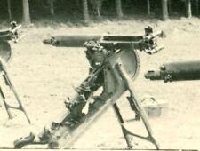 German MG08 Machine Guns and Crewman,  WW2, Original Photo