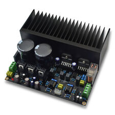 LM3886 Stereo High Power Amplifier Board Kit OP07 DC servo 5534 With Radiator