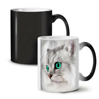 Pet Cute Kitten Furry Cat NEW Colour Changing Tea Coffee Mug 11 oz | Wellcoda