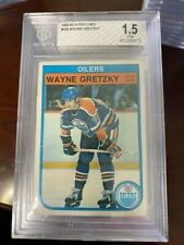 1982 O-Pee-Chee #106 Wayne Gretzky Lowest BGS 1.5 FAIR 4th Year OILERS NHL GOAT