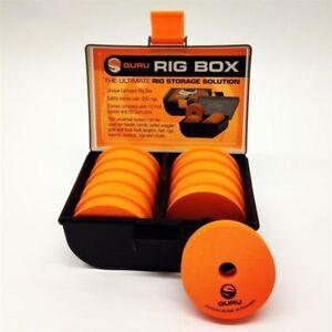GURU rig box ,rig case (small),rig case (large),punch box. Free Postage