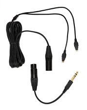 SENNHEISER 4-Pin XLR Balanced Cable & ADAPTER HD 650, HD 600, HD 6XX, HD 660 S