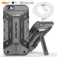 Wallet Slim Stand Card Slot Case iPhone 5 5S 5C SE+3M Certified Lightning Cable