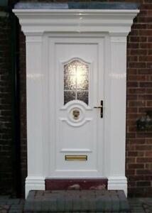 Edwardian Style Atlantis GRP (Fibreglass) Complete Door Surround Pilasters