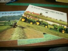 John Deere 5000 Series Tractors Brochures (Lot of 3)