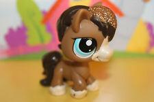 Littlest Pet Shop Figur Pferd Pony #2292 mit Glitzer, super niedlich