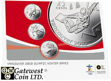 2008 Vancouver 2010 Uncirculated Proof-Like Coin Set (12272)