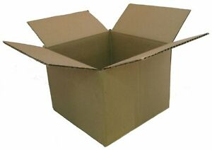 25 13x11x6 Corrugated Boxes Shipping Packing Moving Cardboard Cartons