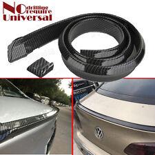 Universal Carbon Fiber Rear Wing Lip Spoiler Car Roof Trunk Bonnet 1.5M Fit Benz