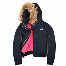 Hollister California Damen Jacke Jacket Winterjacke Gr.L (DE 40) Navy Blau 87681