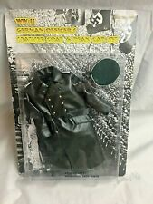 """1:6 WW2 German Officer's Leather Coat & Peak Hat Set. SEALED, """"IN THE PAST TOYS"""""""