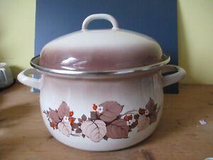 Vintage Continental Cookware Large Saucepan