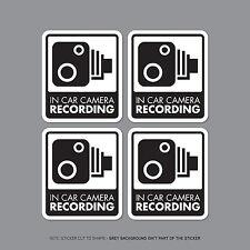 Sku2298 / 32-Set di 4 Auto Telecamera Auto Registrazione Segno Adesivo-CCTV-Dashcam