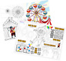 Pack of 12 - A4 Circus Party Placemat Tabletop Activity Sheets - Bag Fillers