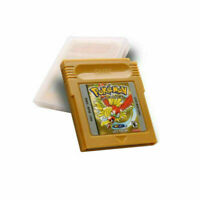 GBC Pokemon Gold Version Cartridge Card Cart for Nintendo Game Boy Color Gift