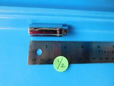 """USED, MAC TOOLS  1/4 IN. DR.  """" 1/2"""" IN. DEEP 6 POINT SOCKET, PART #MD166R USA"""
