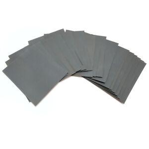 20 x Wasserschleifpapier Nassschleifpapier Nassschleifmittel P240 bis P2000