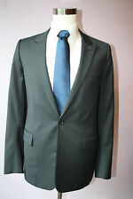 Dior Homme Heide Slimane Gray Striped Two Button Wool Blazer Jacket size 40 L